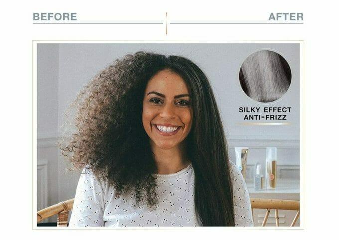 avant et après lissage demeliss steam